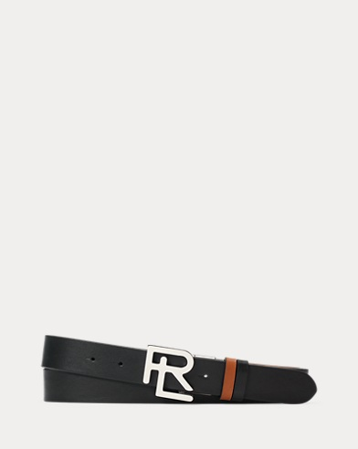 RL Calfskin Leather Belt