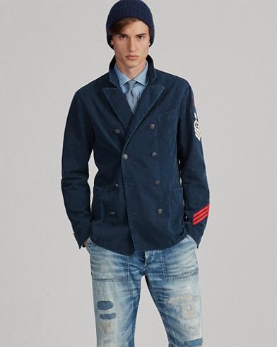 Cotton Twill Admiral's Jacket