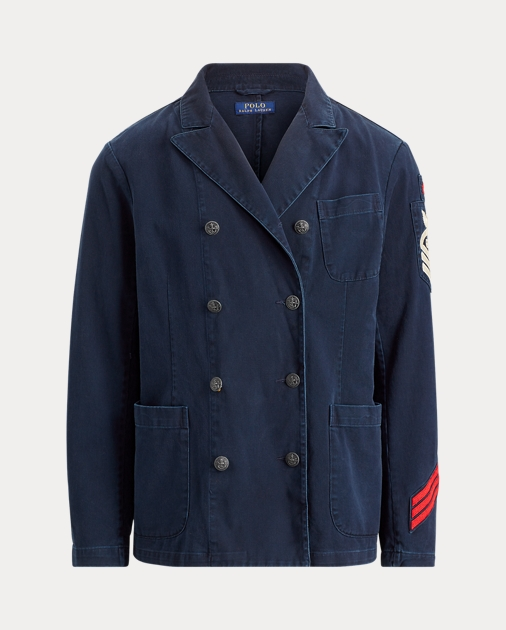 Cotton Admiral's Admiral's Jacket Cotton Twill Jacket Twill Jacket Cotton Twill Admiral's OiuPkXZ