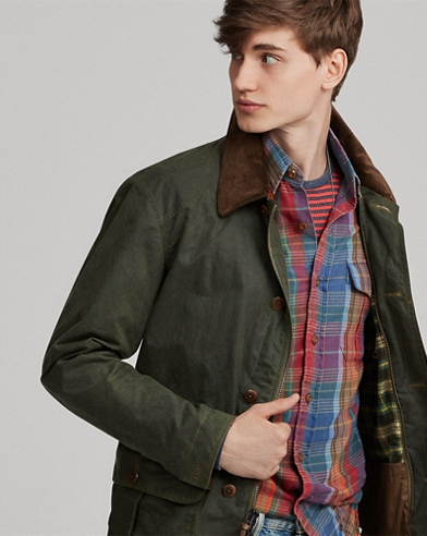 Oilcloth Jacket