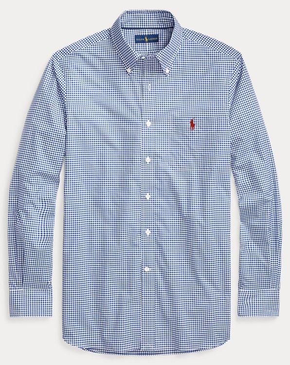 폴로 랄프로렌 Polo Ralph Lauren Classic Fit Gingham Shirt,Royal/White