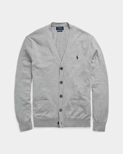 Slim Fit Cotton Cardigan