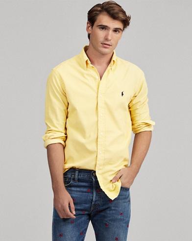 Camicia in velluto Slim-Fit