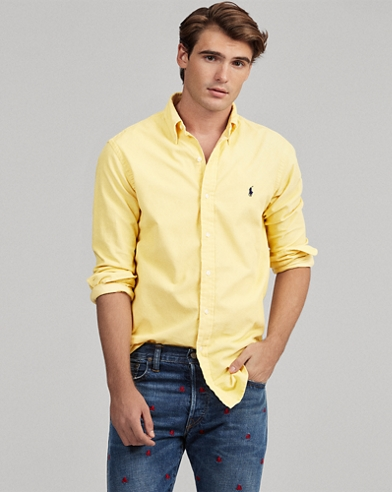 Camicia in velluto Slim-Fit