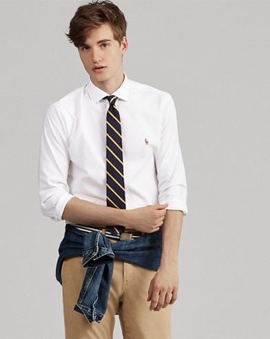 Camicia Oxford Slim-Fit