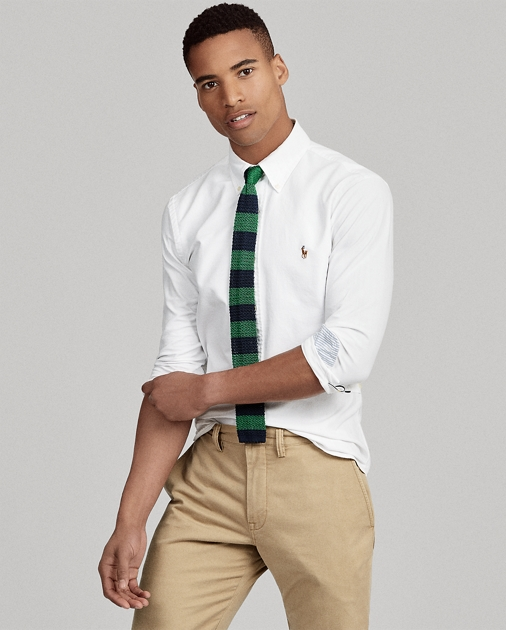 1edd2e770 Polo Ralph Lauren Camisa Oxford Slim-Fit 1