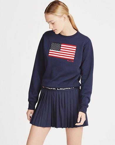 US Open Flag Fleece Pullover