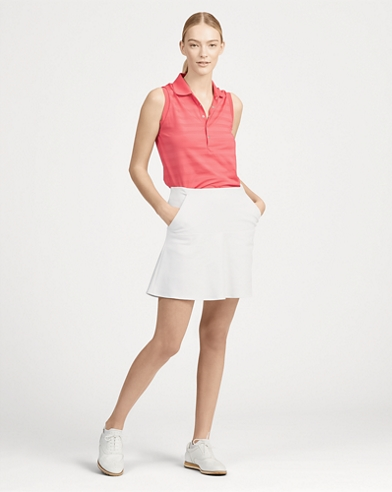 Jupe-short de golf en jersey