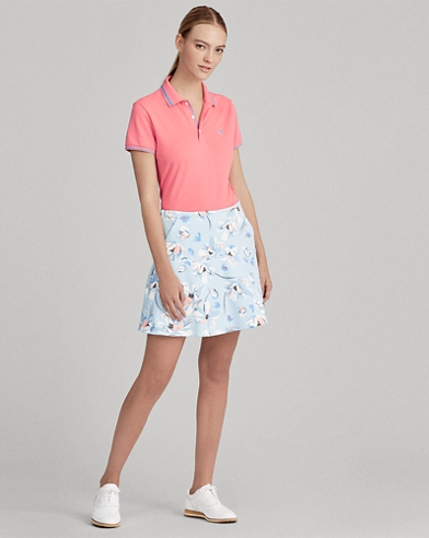 Stretch-Skort mit Tigerdruck