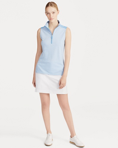 Tailored Fit Sleeveless Polo