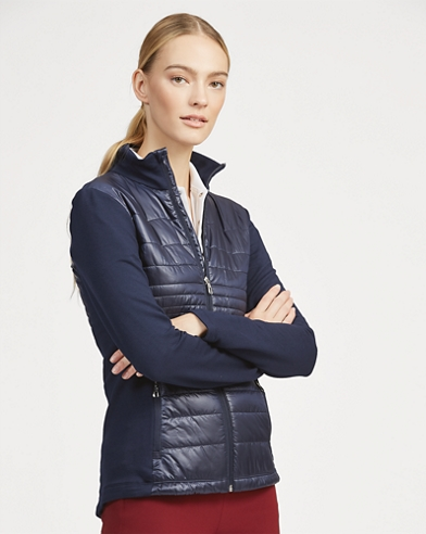 Quilted Wool Zip Jacket