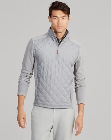 Pullover mit halbem Reißverschluss