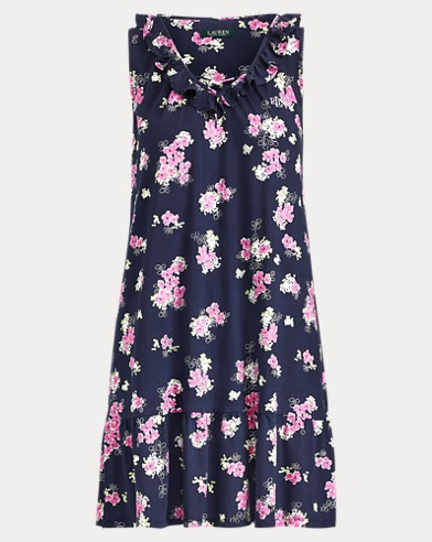 Floral Cotton Nightgown. Lauren