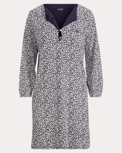Cotton-Modal Short Gown