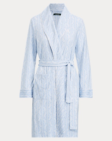 Cotton-Blend Robe