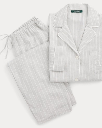 Stripe Sateen Sleep Set