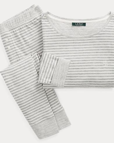 Stripe Fitted Sleep Set