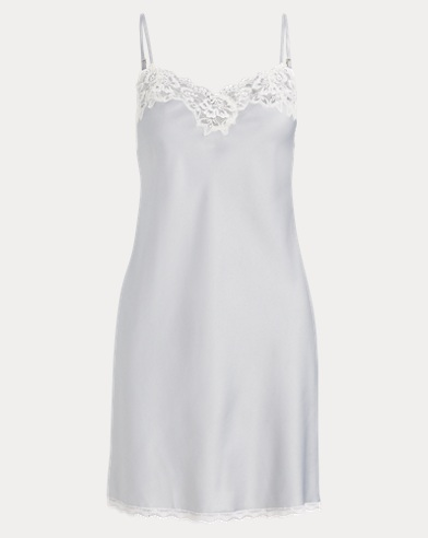 Lace-Trimmed Chemise