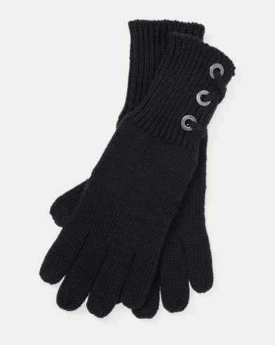 Lace-Up Tech Gloves