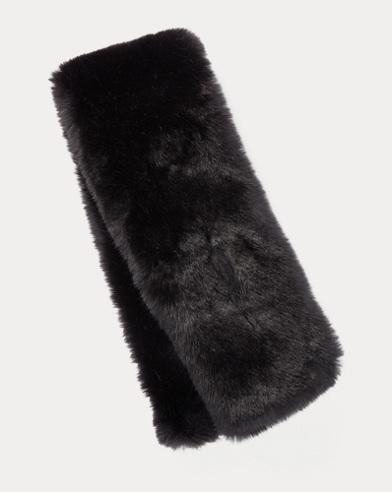Faux-Fur Pull-Through Scarf