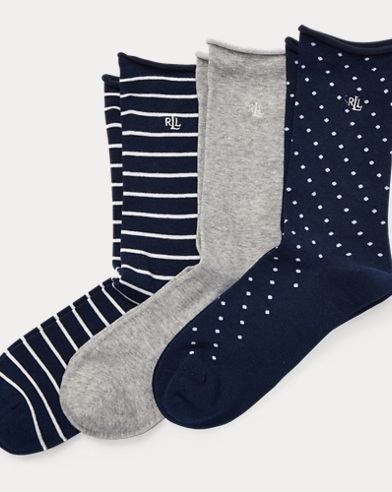 Roll-Top Sock 3-Pack
