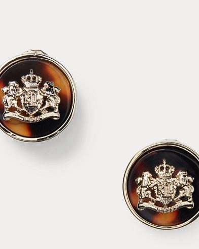 Crest Earrings
