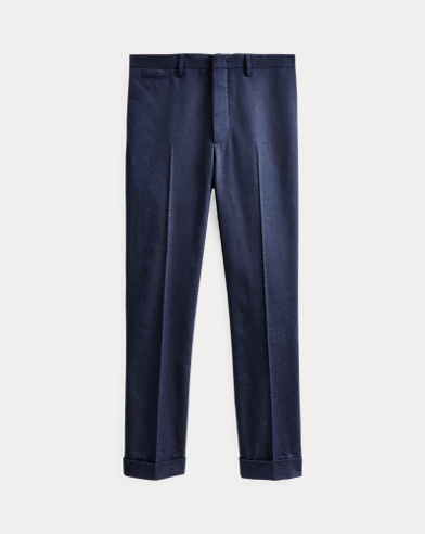 Slim Fit Herringbone Trouser