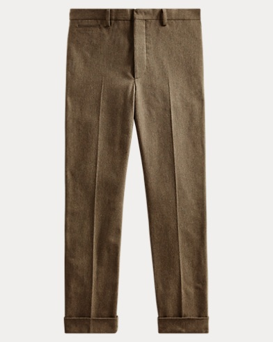 Slim Fit Twill Suit Trouser