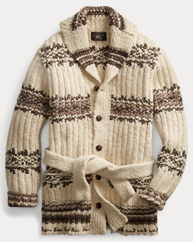 Wool-Blend Ranch Cardigan