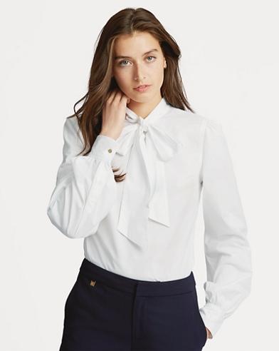 Necktie Broadcloth Shirt
