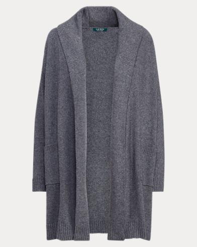 Cardigan coton mélangé