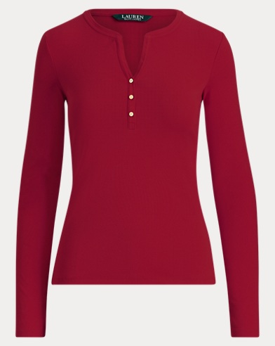Jersey Henley Shirt