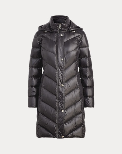 Chevron Down Jacket
