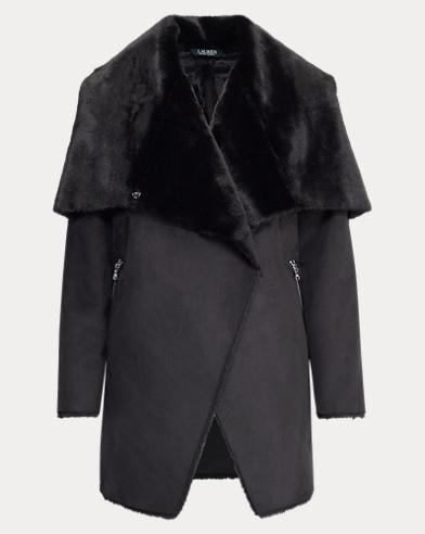 Jacke aus künstlichem Lammfell