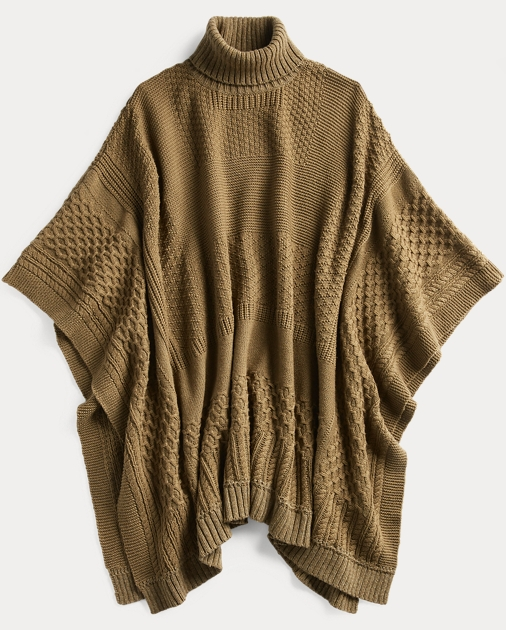 great look special for shoe wholesale price Wool-Cashmere Poncho