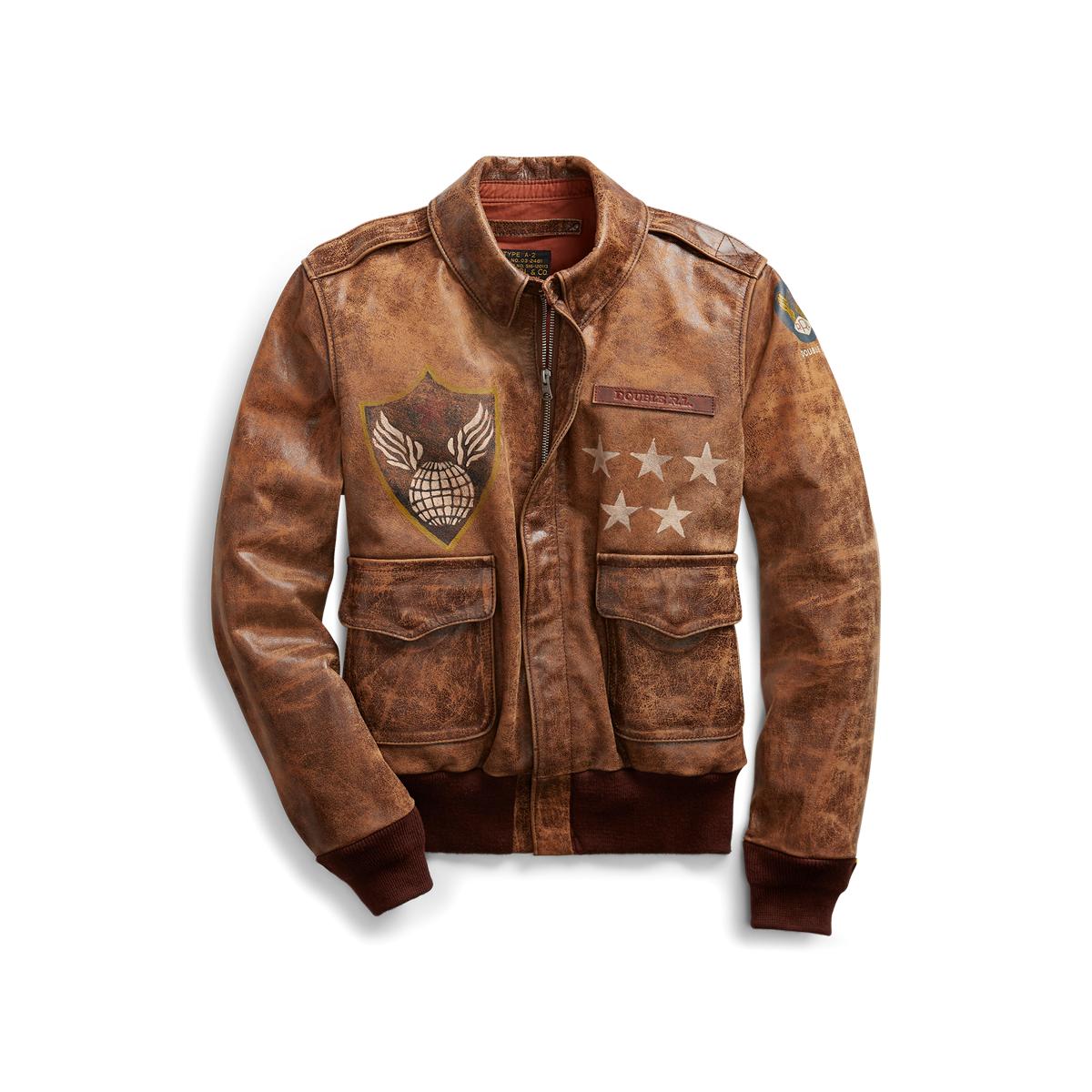 Online-Verkauf ungeschlagen x erster Blick A-2 Leather Jacket