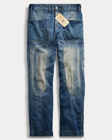 Denim Naval Pant