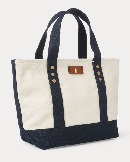 9b5c7164b0d3 Polo Ralph Lauren Canvas Mini Tote Bag 2