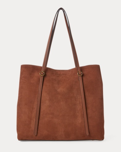 Suede Lennox Tote