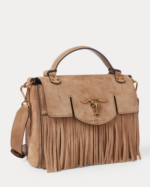 463f0c0b41 Suede Small Schooly Bag