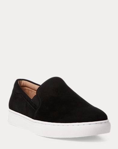 Drea Suede Slip-On Sneaker