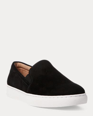bbf28888b10b Womens Designer Trainers   Sneakers   Leather   Suede   Ralph Lauren UK