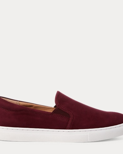 Drea Suede Slip-On Sneaker. Exclusive. color (3); Berry · Black · Taupe. Polo  Ralph Lauren