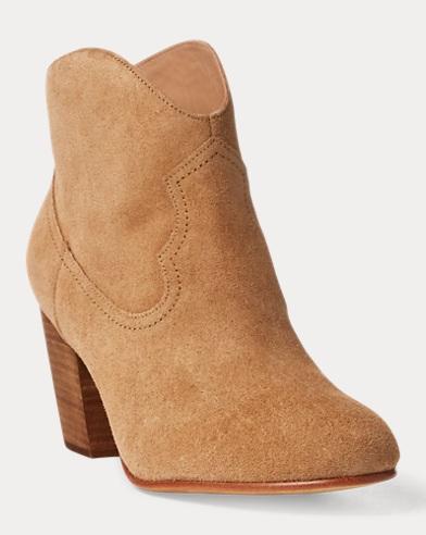 Mazie Suede Cowboy Boot