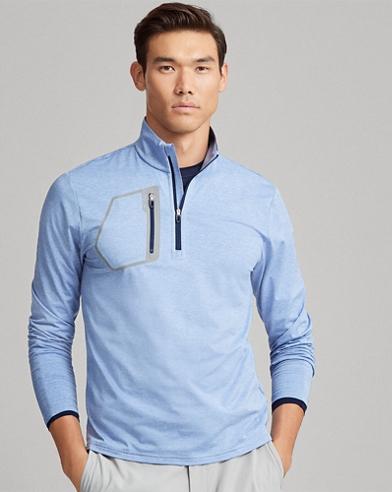 Tech Jersey Half-Zip Pullover
