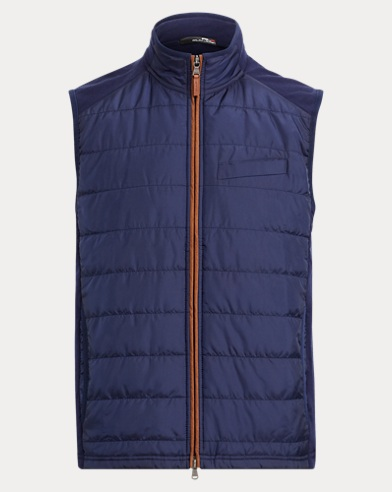 Stretch Wool Hybrid Vest
