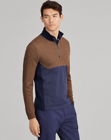 Merino Hybrid Pullover