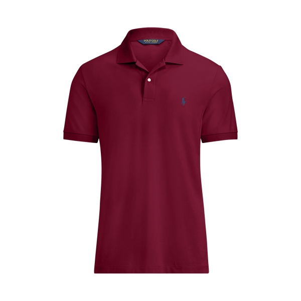 Ralph Lauren Custom Slim Performance Polo Classic Wine S