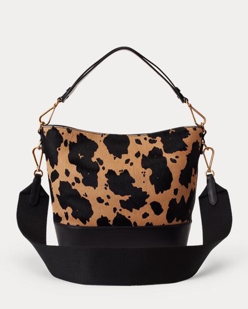 37039cb82f9 produt-image-2.0. produt-image-3.0. Women Accessories Handbags Small  Haircalf Bucket Bag. Polo Ralph Lauren