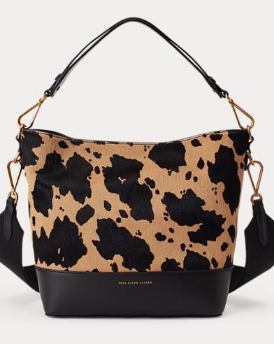 addb9792bc60 Small Haircalf Bucket Bag. Polo Ralph Lauren. Small Haircalf Bucket Bag.   448.00  229.99